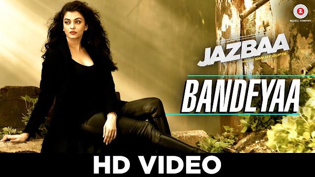 Bandeyaa lyrics - Aishwarya Rai Bachchan