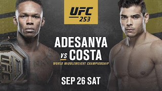 UFC 253: ADESANYA VS COSTA Live Stream