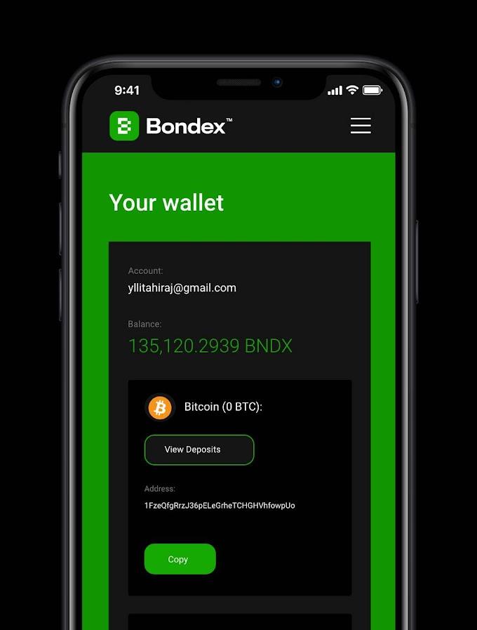 Token BNDX (Bondex ) là gì ? Hướng dẫn đào Token BNDX