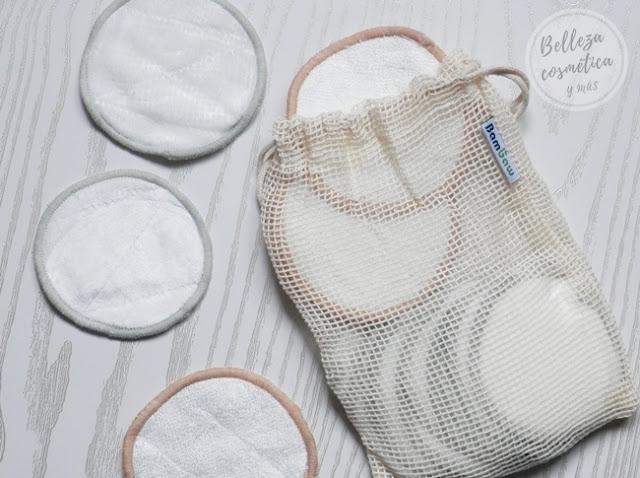 discos algodón reutilizables opinión
