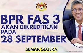 BPR Fasa 3 Mula Dikreditkan Pada 28 September, Semak Status Anda & Baki Bayaran