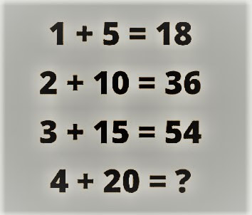 Math IQ Question