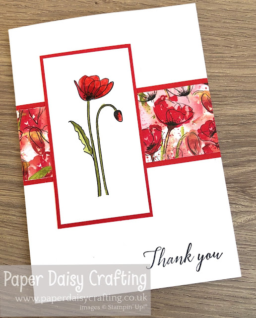 Peaceful Poppies Stampin Up