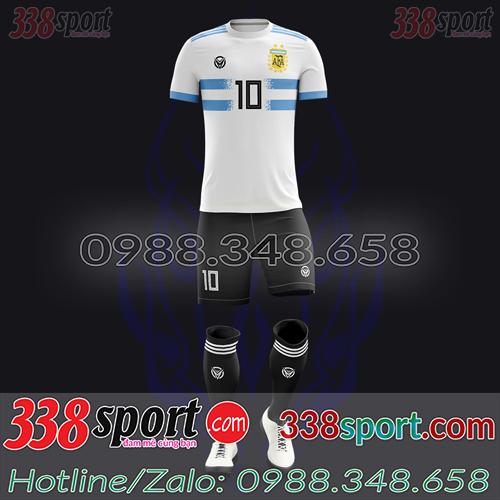 Áo Đội Tuyển Argentina Đặt May Theo Yêu Cầu - Mã AGRENTINA 01