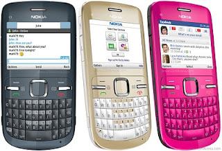 Spesifikasi Handphone Nokia C3