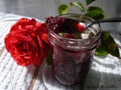My Rose Jam Experiment, Photo ©2019 Tina M.Welter