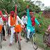 ऋषि यादव ने साइकिल रैली निकालकर सरकार की अव्यवस्थाओं को गिनाया