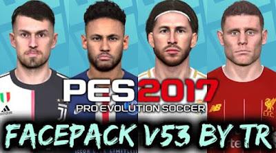PES 2017 New Facepack V.53