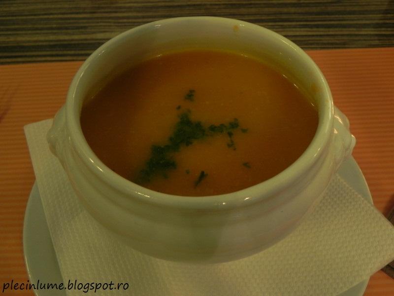 Supa belgiana de morcovi