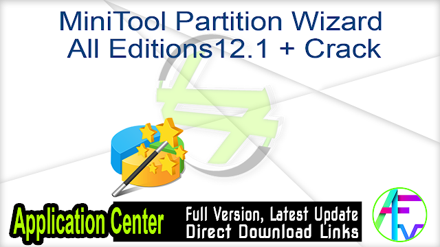 MiniTool Partition Wizard Pro Ultimate 12.1 (x64) + Crack