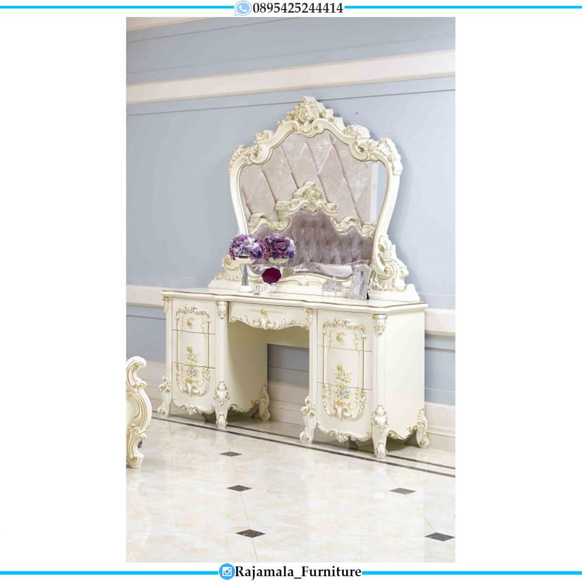 Best Sale Meja Rias Mewah Jepara Luxurious Style Furniture Jepara RM-0586