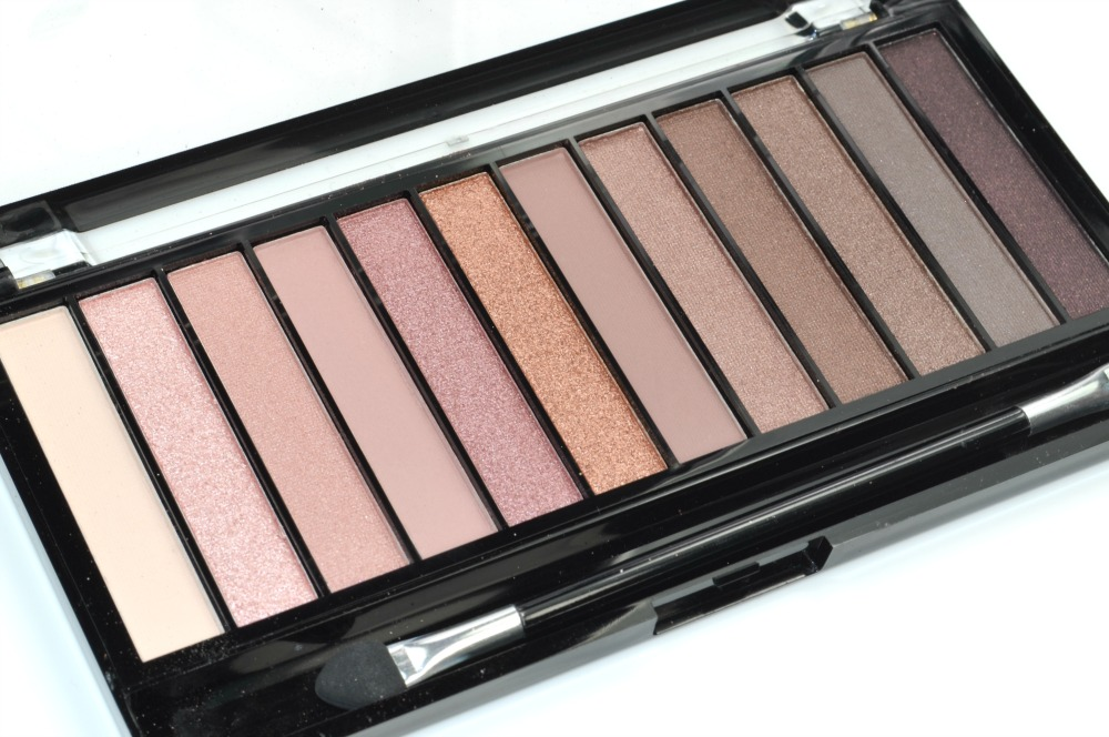 Makeup Revolution Redemption Palette Iconic 3 Review Swatches