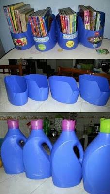 Como decorar ambientes com garrafa pet