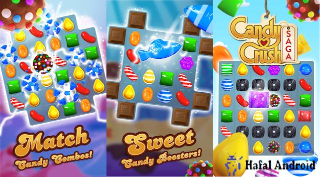 Game Puzzle Android Untuk Anak Candy Crush Saga