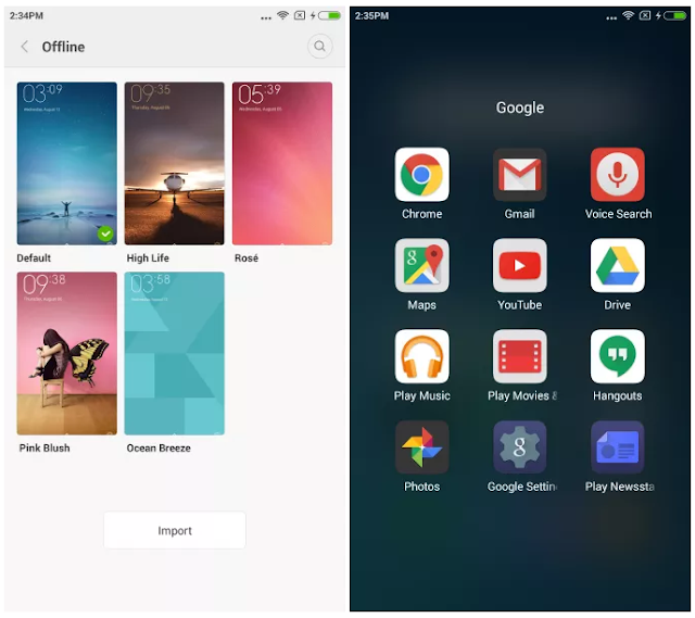 Update MIUI 7 Global Stable Version For Xiaomi