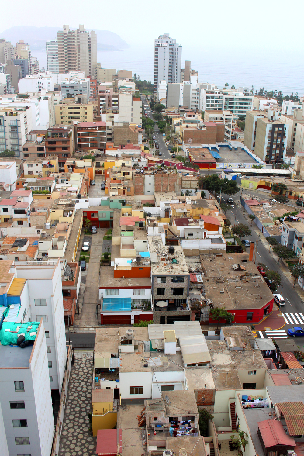 Miraflores rooftops in Lima, Peru - travel blog