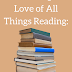 Celebrate the Love of All Things Reading: Literacy Musings Mondays