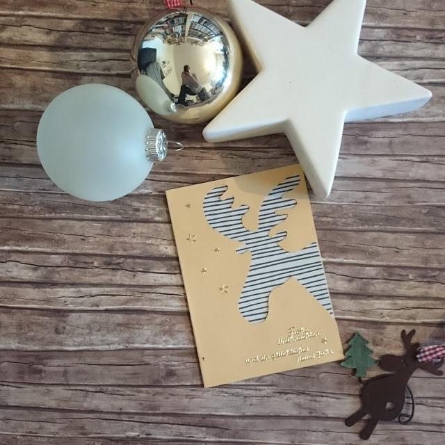 [DIY] Weihnachtskarte Elch // Elk Christmas Card