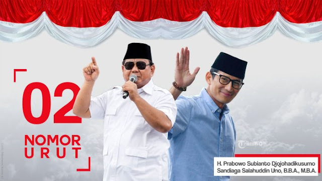 Prabowo Berharap Pilpres 2019 Mendatang akan Berjalan Sejuk, Damai, dan Kekeluargaan