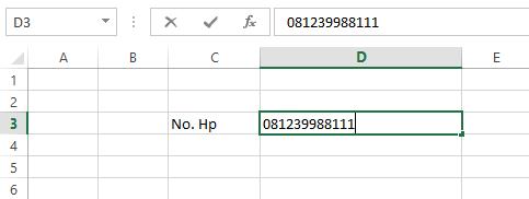 Cara Menulis Angka 0 di Depan Pada Microsoft Office Excel