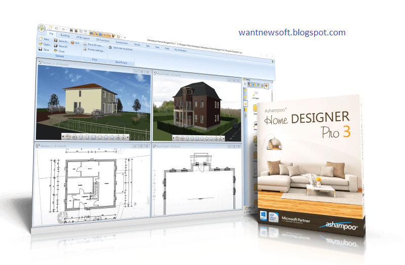 Ashampoo home designer pro 3 free download with license for pc - Chief architect home designer pro torrent ...
