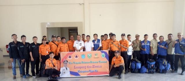 Pemda OI Kirim 20 Relawan Ke Lampung