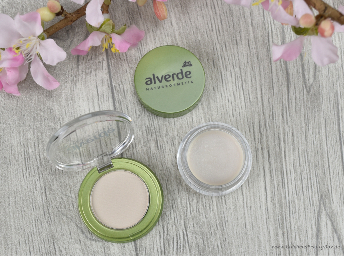 alverde Neuheiten Herbst / Winter 2016 - All in One Lidschatten & Highlighter