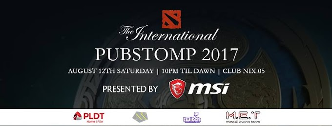 Join MSI and Watch The International Pubstomp 2017