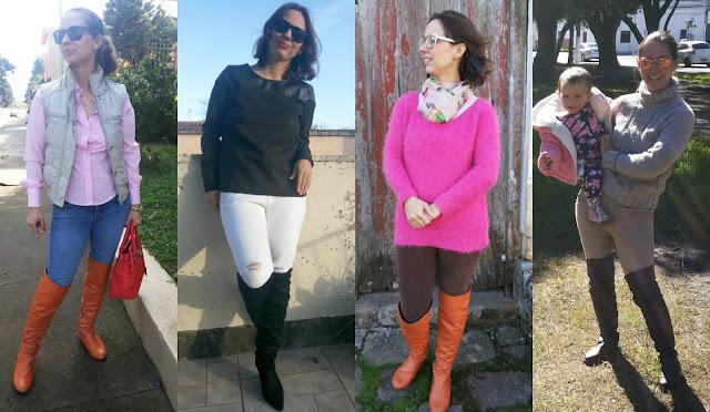 Botas para o outono