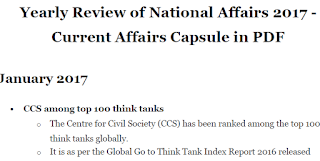 Yearly Review of National Affairs