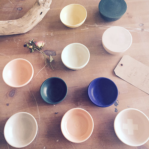 Paper and Clay, ceramic cups