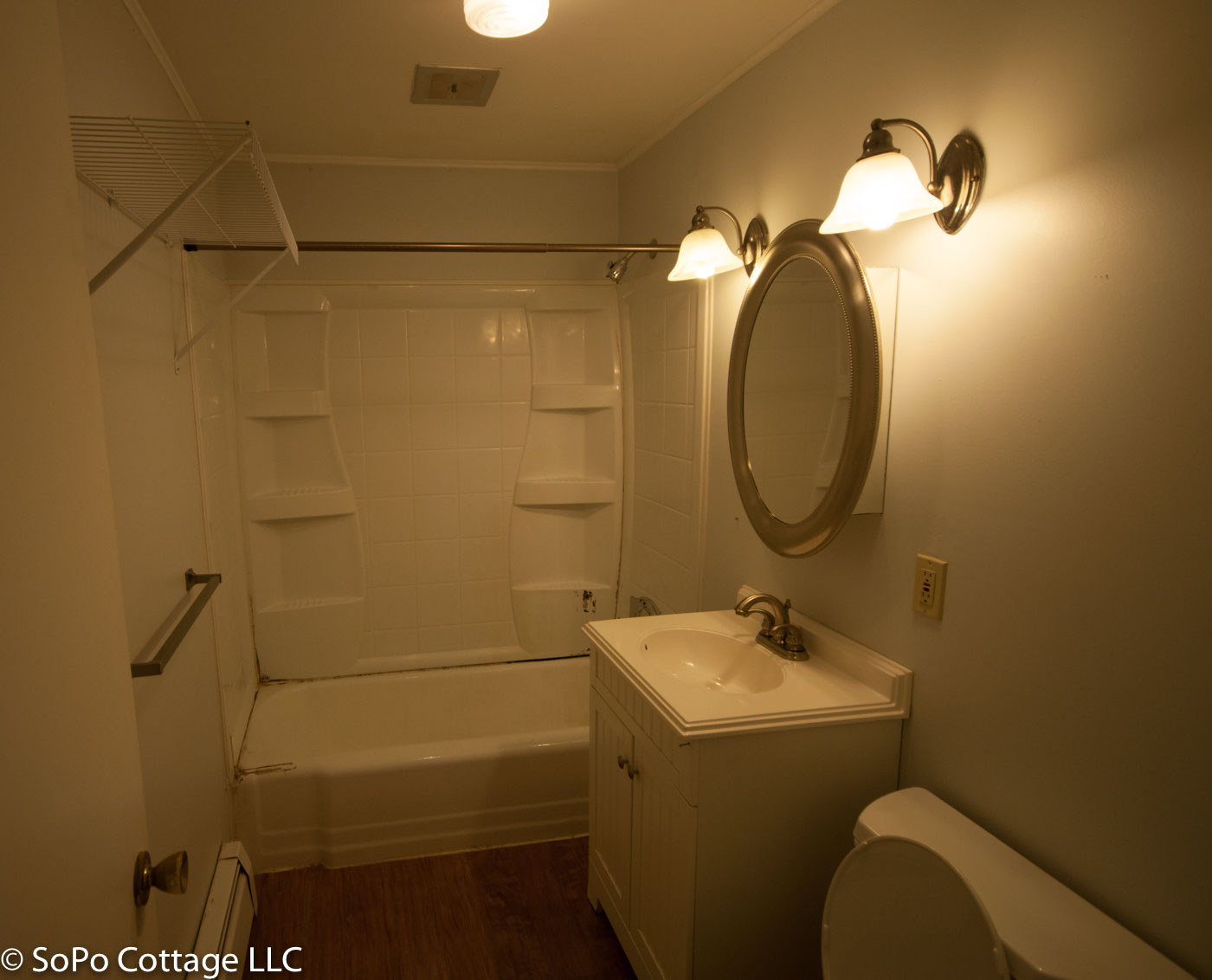 SoPo Cottage Ranch Bathroom Renovation Before And After - How to gut a bathroom