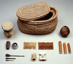Ancient Egyptian Make-up pots