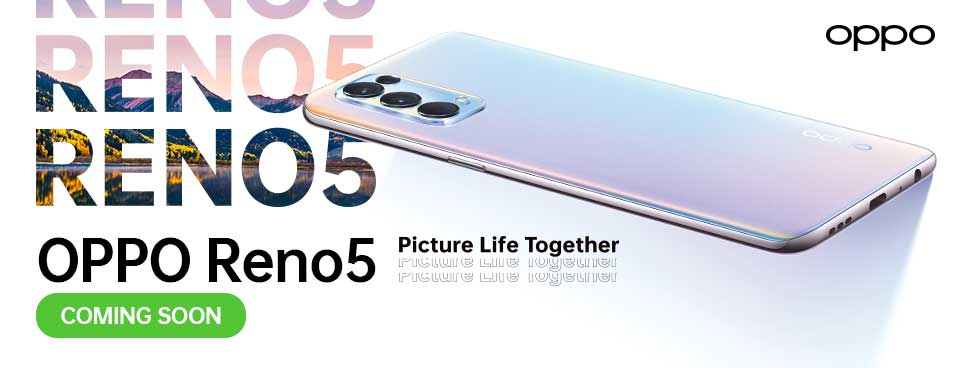 OPPO Reno5 to arrive this February 2021