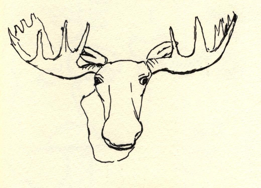 InkTracks: moosehead