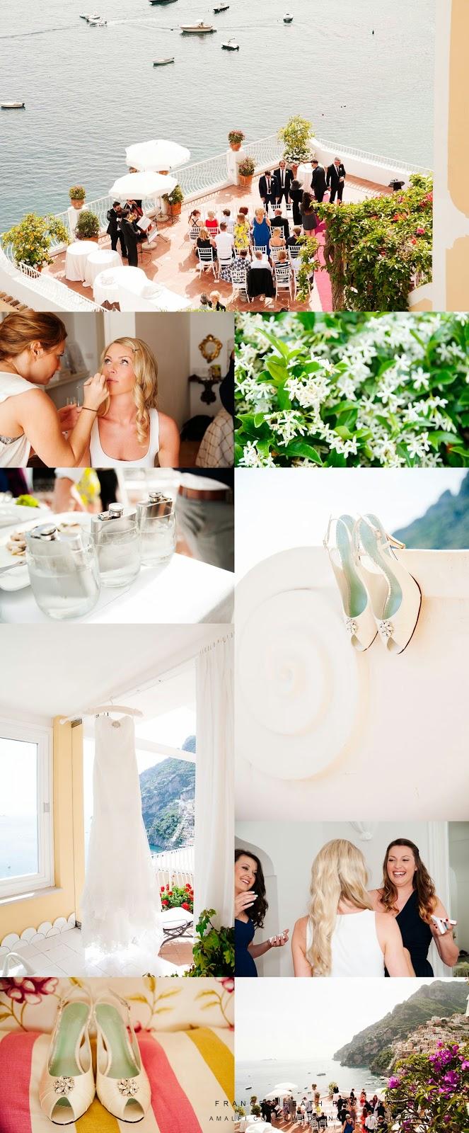Wedding preparations Hotel Marincanto Positano