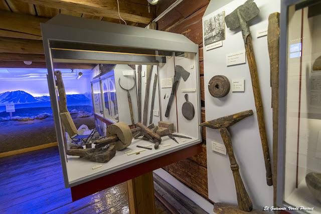 Utillaje tramperos y cazadores en el Museo Polar, Tromsø - Noruega, por El Guisante Verde Project