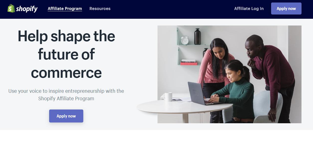 Shopify recurrivg affiliate program