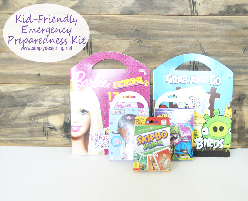 Kid-Friendly Emergency Preparedness Kit | Pinning for later so that I can make one of these!!!  | #PrepWithPower #shop #emergency #emergencypreparedeness