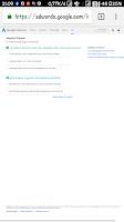 Tampilan halaman keyword planner google adwords