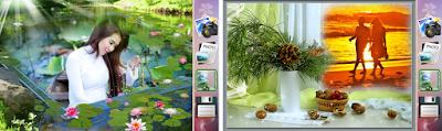 تنزيل برنامج تركيب الصور على خلفيات طبيعية Photo Collage Art