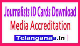 Telangana State Media Accreditation Rules 2019 Journalists ID Cards