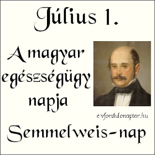 Július 1 - A magyar egészségügy napja