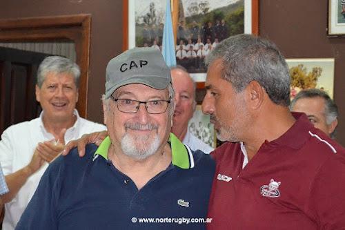 José Luis Riera CAP 2019 de la Unión de Rugby de Salta