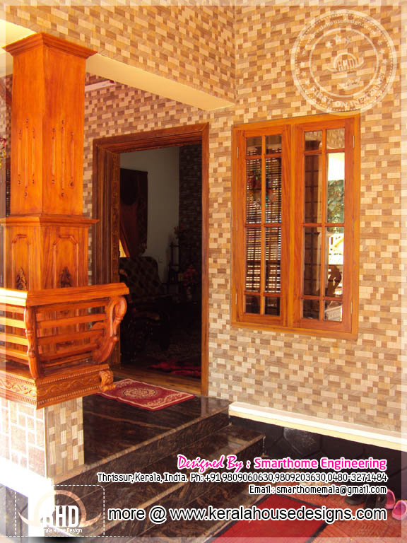 Kerala House Interior Design: 1872 Square Feet Completed House In Kerala