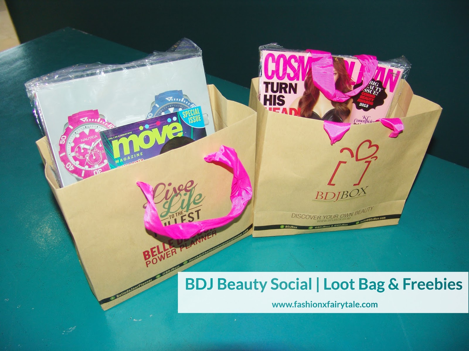 BDJ Beauty Social | Loot Bag & Freebies