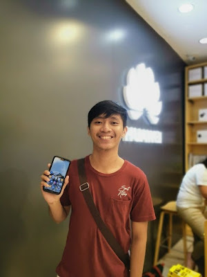 Roman Estoque, HUAWEI P20 Lite User | Huawei Service Day