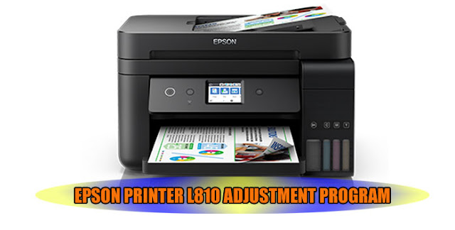 EPSON L810 PRINTER ADJUSTMENT PROGRAM