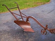 Climbing My Family Tree: Walk behind, horse-drawn (or Model A - drawn!), single bottom, handheld plow