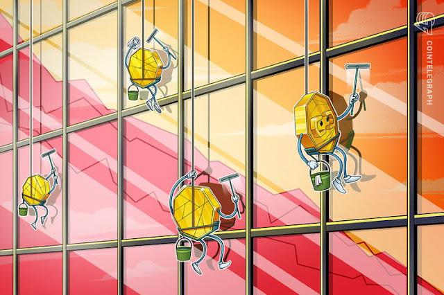 Рынки криптовалюты становятся красными